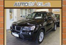 BMW X3 xDrive20d Österreich-Paket Aut./Leder/Xenon/Navi/ bei HWS || Autostadl Peter Fehberger in