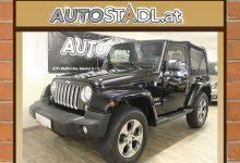 Jeep Wrangler Sahara 2,8 CRD Aut./inkl.Hardtop/34000KM!!!/ bei HWS    Autostadl Peter Fehberger in
